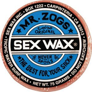 Mr. Zogs Original Sexwax - Tropical Water Temperature (Mixed - Random Scent) by Mr Zogs