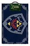 The Legend of Zelda Paillasson Bouclier hylien, Multicolore