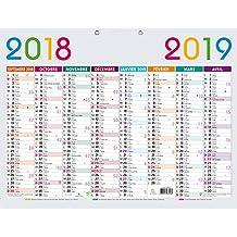 Calendario Academico Us.Amazon Es Calendario Escolar Exacompta