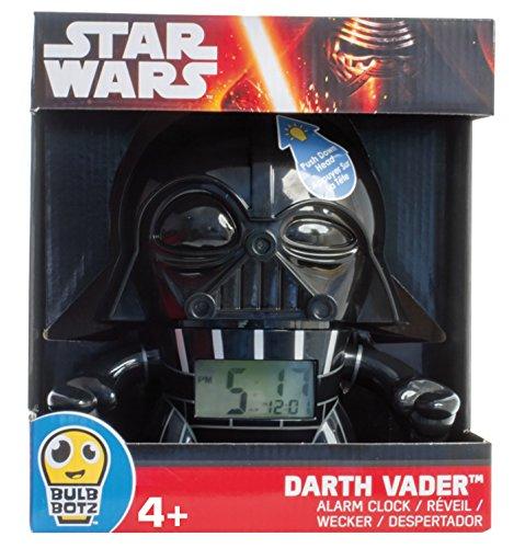 Kanaï Kids KKCMINI1–Reloj Despertador, diseño de Darth Vader de Star Wars, 9cm, Multicolor