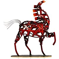 Tooarts Scultura in Metallo Casa di Tessitura Arredamento Articoli Artigianato