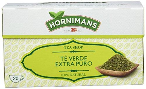 Hornimans Té Verde Bolsitas De Té Puro Tea Shop - 30 g