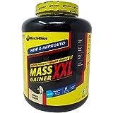 MuscleBlaze Mass Gainer XXL - Vanilla Flavour, 3kg Jar