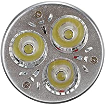 MR16/GU5.3 7W LED Regulable Bombilla- YTJ MR16/GU5.3 Lámpara (Luz Blanco Frío), AC/DC 12V, 6500K, 640 Lumen, La Luz de 180°