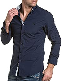 BLZ jeans - Chemise chic homme bleu navy