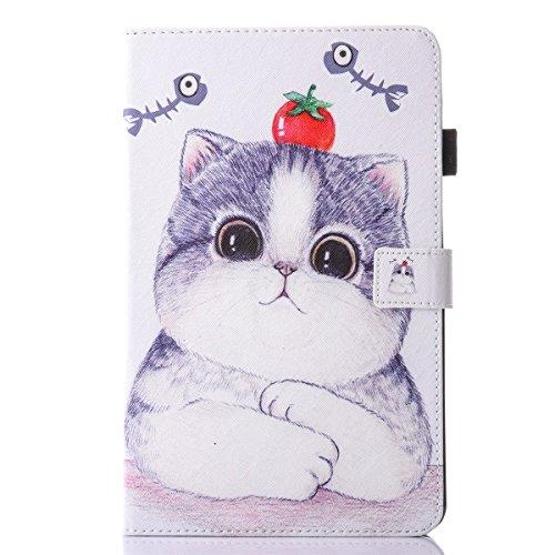 inShang T580/T585 Cover für Samsung Galaxy TAB A 10.1 Inch T 580 Hülle mit PU Leder Skins Etui Schutzhülle Ständer Smart Case Cover,