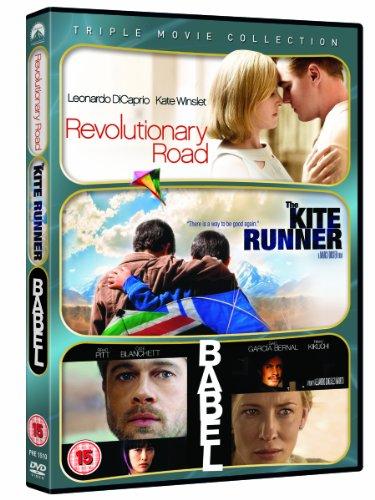 revolutionary-road-the-kite-runner-babel-dvd