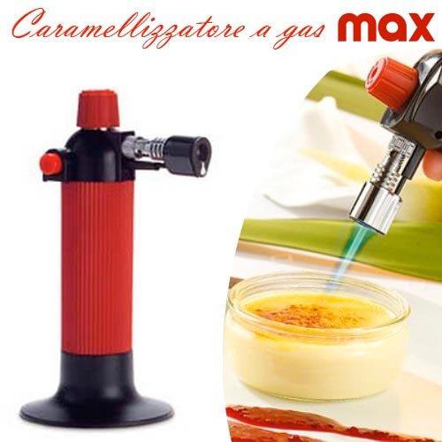 Bruciatore da Cucina a Gas Caramelizzatore Crema Cannello Creme Catalana