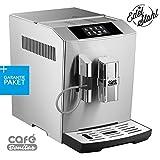 50€ sparen + Garantiepaket✔ Kaffeevollautomat✔ ONE-TOUCH✔ Edelstahlgehäuse✔ Silber-gebürstet✔ Café Bonitas✔ Tech1✔ Touchscreen✔ Dualboiler✔ 19 Bar✔ Kaffeeautomat Kaffeemaschine Kaffee Espresso Latte