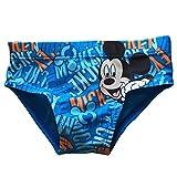 Costume da Bagno TOPOLINO PER BAMBINO 6 9 12 18 24 Mesi Disney (6 mesi, Azzurro)
