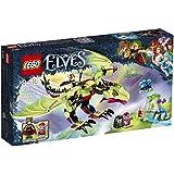 LEGO - 41183 - Elves - Jeu de Construction - Le Dragon maléfique du Roi des Gobelins