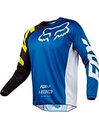 Fox Junior en jersey 180Race, Blue, Taille YXL