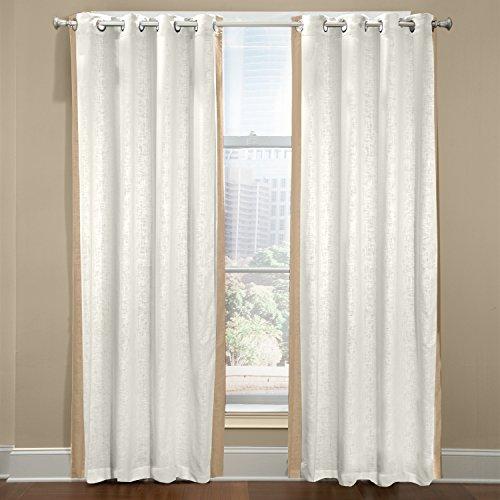 Central Park 100% Leinen Made in den USA Rod Pocket Fenster Panel, Beton, grau von veratex Made In Usa-pocket