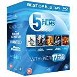 Blu-Ray Starter Pack: Gladiator / The Bourne Ultimatum / Wanted / Fast and Furious / The Mummy: Tomb of the Dragon Emperor [Blu-ray]