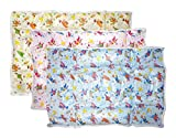 #5: Kotak Sales Premium Double Side Reusable Waterproof Baby Sleeping Mat Foam Cushioned Padded Bed Protector Dry Sheet Absorbent for Babies (Set of 3 Piece)