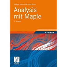 Analysis mit Maple