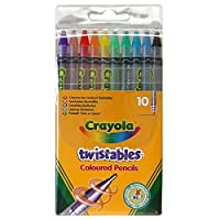 Twistables Coloured Pencils x 10