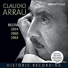 Claudio Arrau: Recitals 1954, 1960, 1963 [5 CDs]