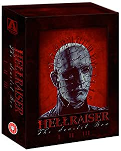 Hellraiser: The Scarlet Box Limited Edition Trilogy [Blu-Ray]