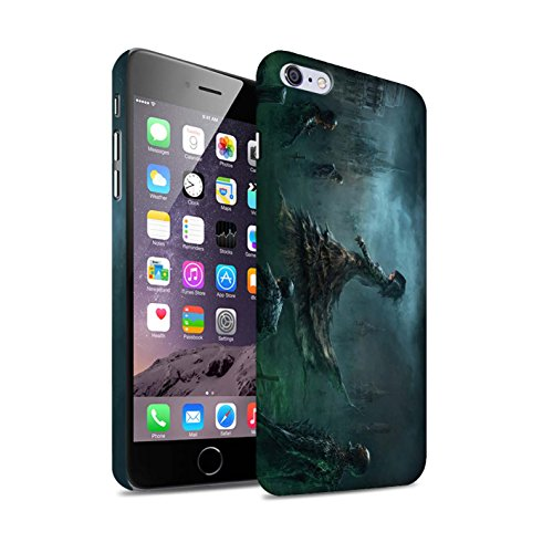 Offiziell Chris Cold Hülle / Matte Snap-On Case für Apple iPhone 6+/Plus 5.5 / Hades/Phantom Muster / Unterwelt Kollektion Banshee/Hexe-Königin