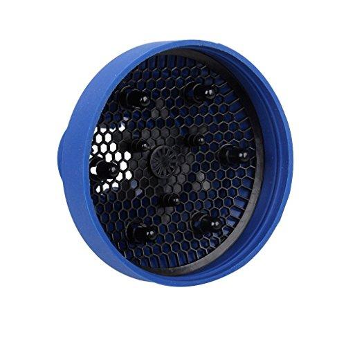 Asien Brötchenwärmer Haar Fön Haartrockner Diffusor 5-13,5 cm blau