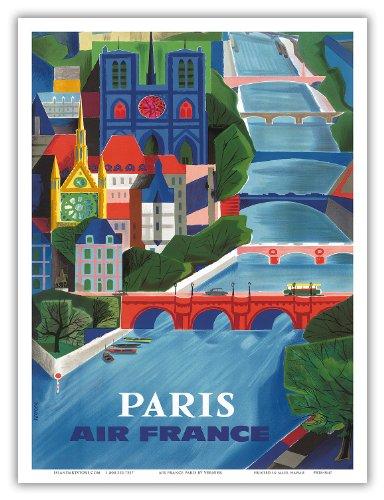 paris-france-air-france-the-seine-river-vintage-airline-travel-poster-by-jean-vernier-c1953-master-a