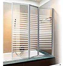 parete vasca box doccia cristallo serigrafato h140x130