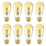 OSRAM VINTAGE 1906 LED EDISON ST35 E27 6,5W=51 W 650 lm extra warm 2400K dim 8er