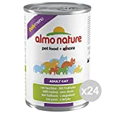 Almo Nature Set 24 Gr 400 162 Cat Can Turkey Daily Food For Cats
