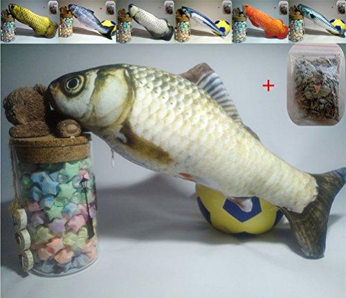 Maibar Juguetes Gatos Pescado Juguetes Gatos 3D Inteligencia