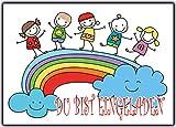 Set 12 Stück lustig Einladungskarten zum Kindergeburtstag Einladung Einladungstext Vorlagen Karten Strand bunt Gartenparty Jungen Mädchen Geburtstagseinladung witzig pool Sommer Jungen Mädchen Kinder