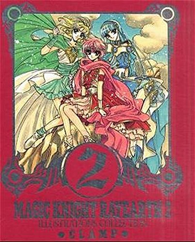 Magic Knight Rayearth. Illustrations Collection 02.