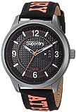 Superdry Herren Analog Quarz Uhr mit Stoff Armband SYGSYG171BO