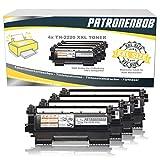 4er Pack Patronenbob® SUPER XXL TONER 5.400 Seiten kompatibel für Brother TN-2220 / TN-2010 für HL-2240 HL-2240D HL-2240L HL-2250 HL-2250N HL-2250DN HL-2270 HL-2270DW DCP-7060 DCP-7060D DCP-7065 DCP-7065DN MFC-7360 MFC-7360N MFC-7460 MFC-7460DN MFC-7860 MFC-7860DW