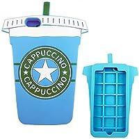 Generica - Funda 3D Iphone 6 Plus y 6S Plus Vaso de Batido o Cafe Capuccino Azul