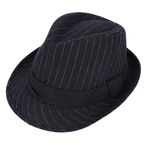 Melón Sombrero Hombre Mujer Cálido Sombrero de Fieltro Lana Moda Jazz  Sombrero. b7d519e25a4