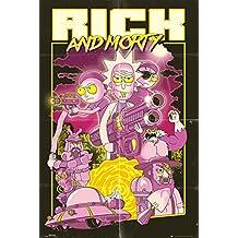 GB Eye LTD, Rick e Morty, Action Movie, Maxi Poster 61 x 91,5 cm