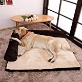 KKJLXX Piccolo Medio Grande Razza Cane Letto Divano Mat Casa Culla Gatto Pet Bed Casa per Big Dogs Cuscino Forniture Bed & Coperta e Tappetino
