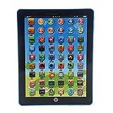 SODIAL(R) El mas nuevo Maquina de educacion aprendizaje ordenador ingles Tablet Pad Juguete de ninos Regalo Azul