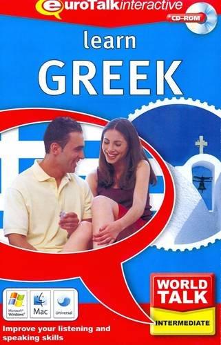 Lernen Sie Griechisch, 1 CD-ROM Verbessern Sie Ihre kommunikativen Fähigkeiten in der fremden Sprache. Für Windows 98/2000/ME/XP und Mac OS 9 oder X