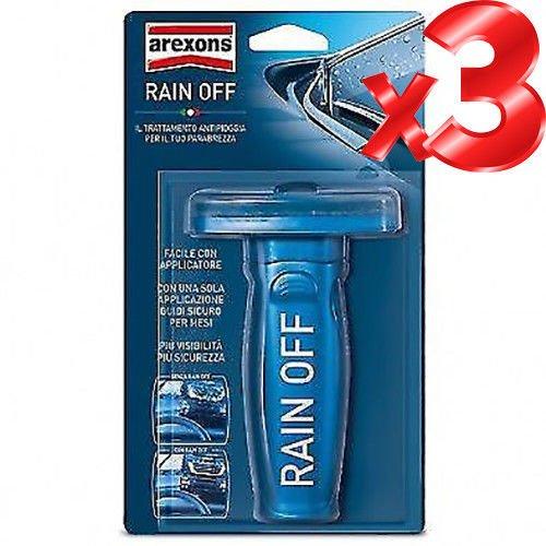 RAIN-OFF-auto-anti-pioggia-spazzole-vetri-auto-Offerta-Limitata-3-pezzi