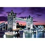Gran Puente de la Torre de Londres, lienzo A1 cuadro listo para colgar 30 x 50,8 cm
