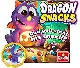 Goliath Games GL31225.006 Dragon Snacks, Fun Memory Game, para niños Mayores de 4 años
