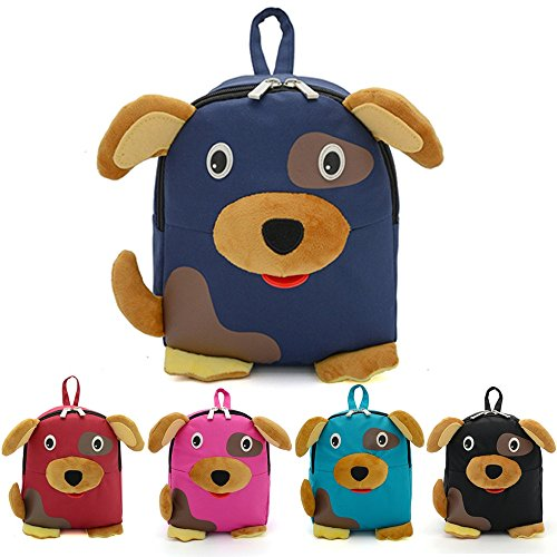Imagen de  infantiles kukul  patrón de perro bebé bolsa para la escuela negro  alternativa