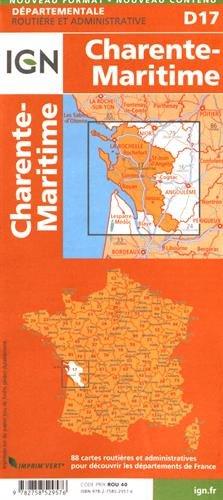 D17 CHARENTE-MARITIME  1/150.000