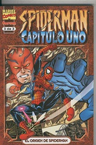 Spiderman capitulo uno numero 3: El origen de Spiderman