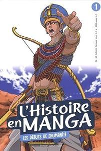 """Afficher """"L'histoire en MANGA n° 1<br /> Les débuts de l'humanité"""""""