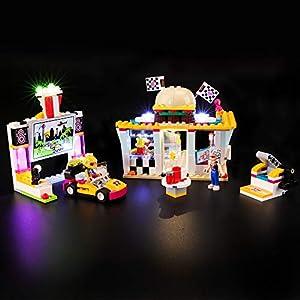 BRIKSMAX Kit di Illuminazione a LED per Lego Friends Il Fast-Food del Go-Kart,Compatibile con Il Modello Lego 41349… 0716852280322 LEGO