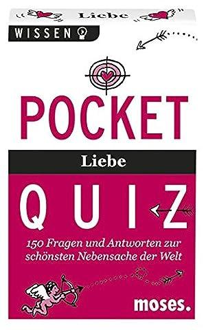 Pocket Quiz Liebe: 150 Fragen und Antworten zu der schönsten Nebensache der Welt (Pocket Quiz / Ab 12 Jahre