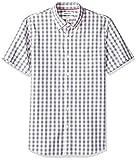 Goodthreads Herren Slim-Fit Hemd, Beige (Ivory Check Ivo), Gr. X-Small